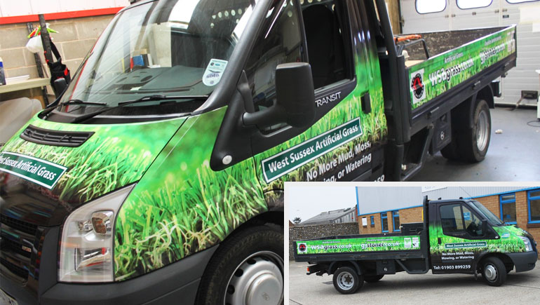 Van Wraps Van Wrapping Van Wrap Van Wrappers Worthing